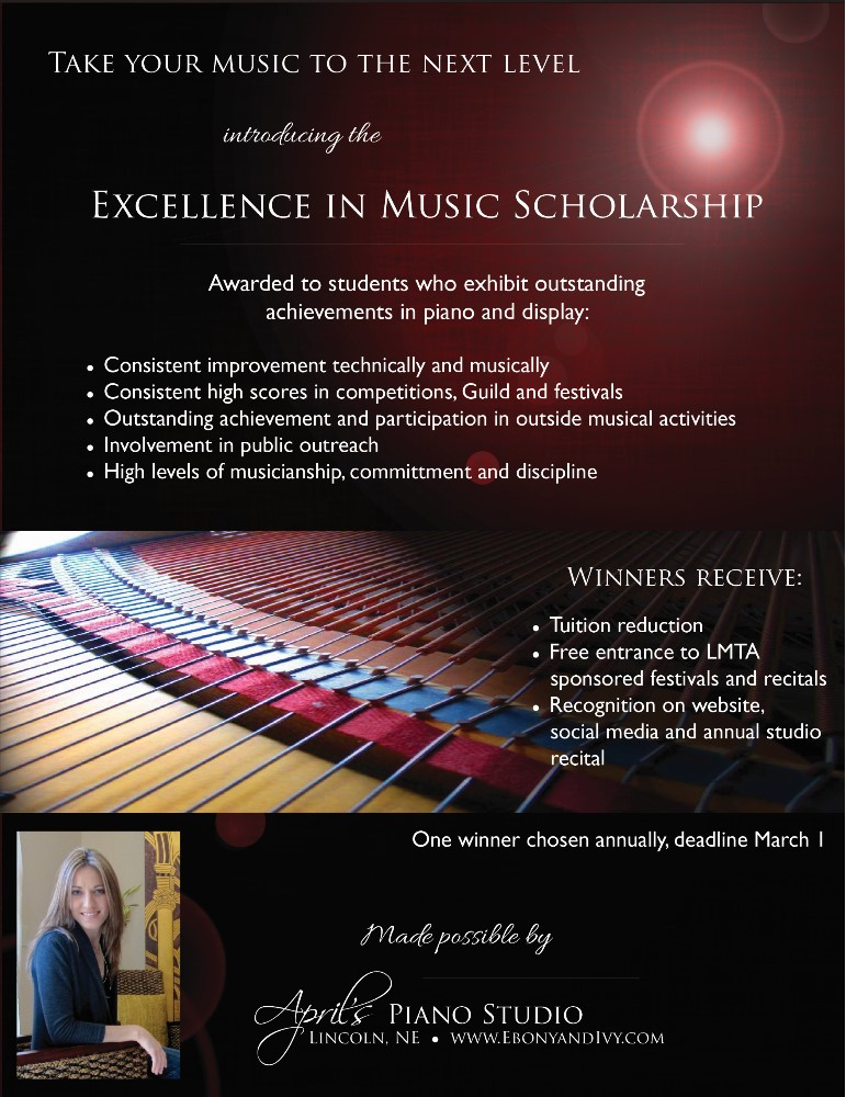 Excellence in Music Scholarship